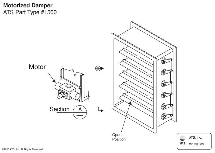 Ats Inc 187 Dampers Amp Blastgates